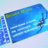 NAUI Scuba Diver Card