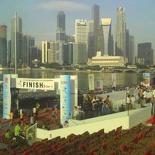 Army Half Marathon 2007 Finish