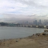 The marina barrage