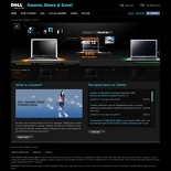 Dell swarm 2009 site main page