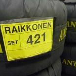Raikkonen tires