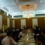 College matriculation Dinner