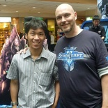 Brian Kindregan from Blizzard-  SC2 lead writer