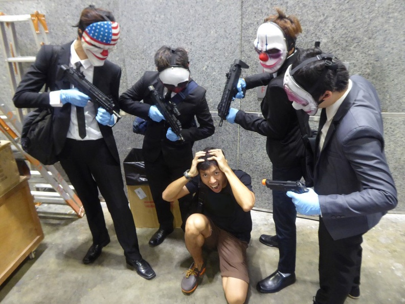 Caught in the heist at AFA 2014