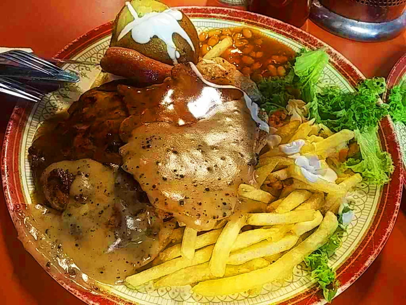 Chicken Chop and Pork Chops Combo