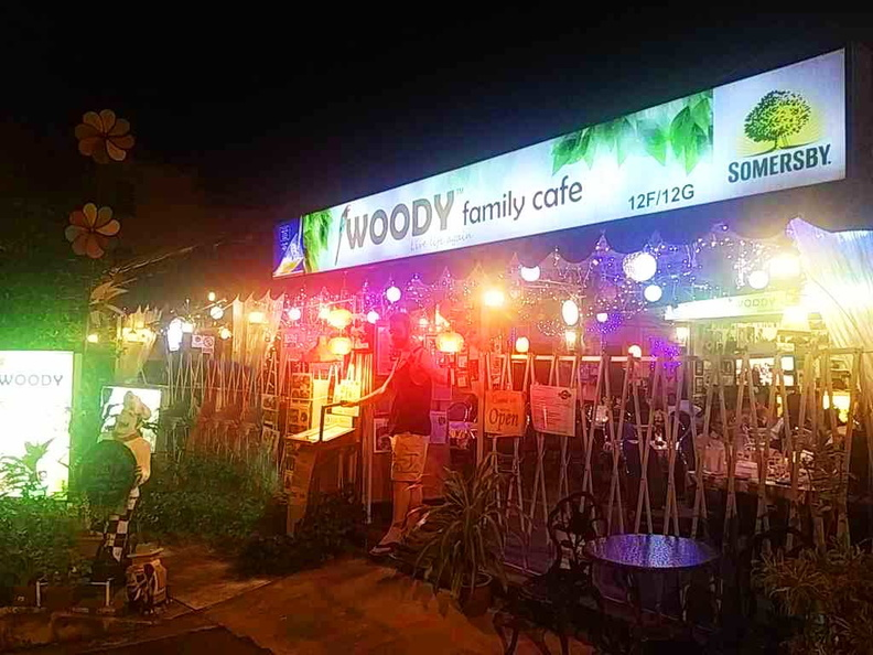 Woody Family Café Entrance