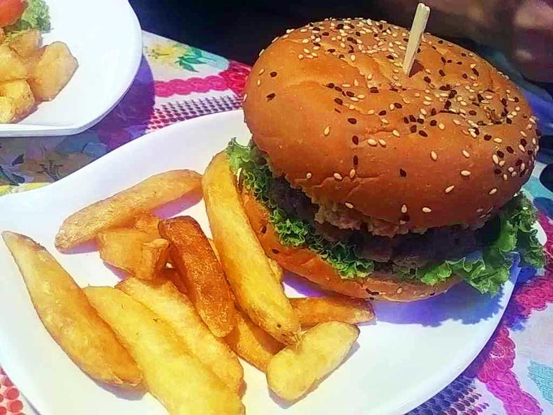 Burgers on the serve