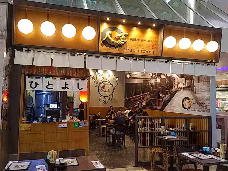 Ramen Hitoyoshi store front at Harbourfront