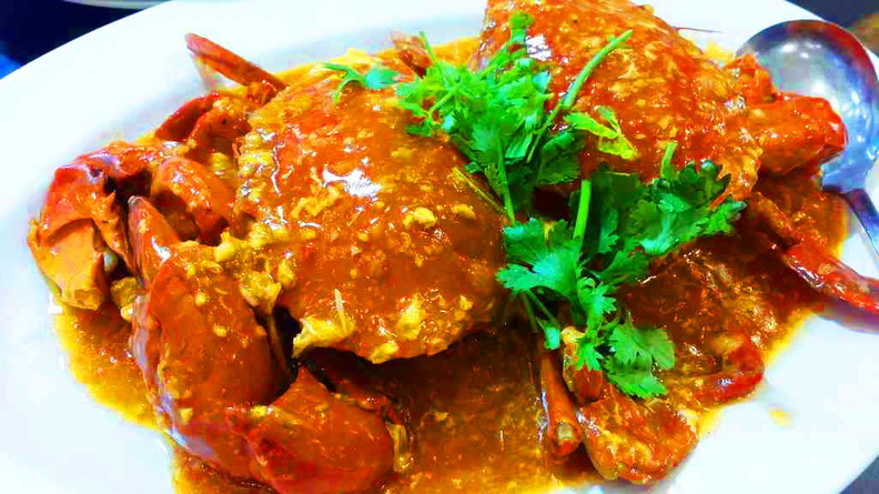 Their smaller chili crab dish offerings, sweet but tad too spicy for my liking. you might wish to request for less chili if you can't take spiciness.