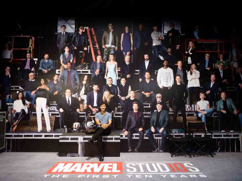 Marvel Studios crew of 10 Years