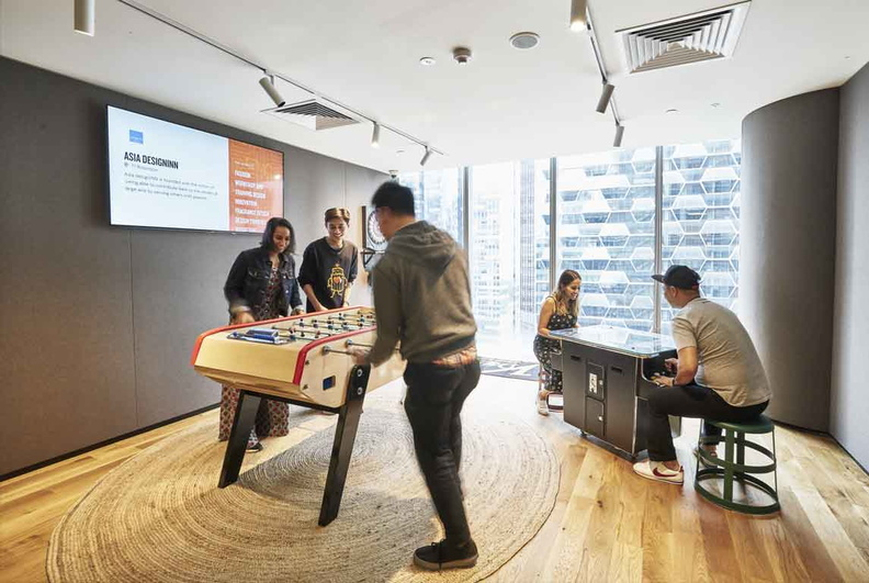 wework Games and interaction room