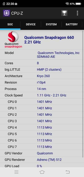 CPU-Z Details