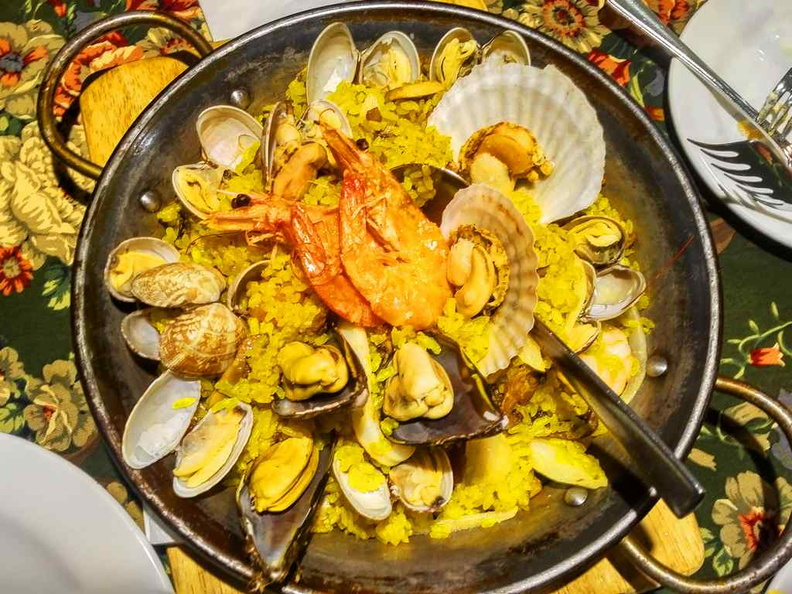Seafood Paella done right