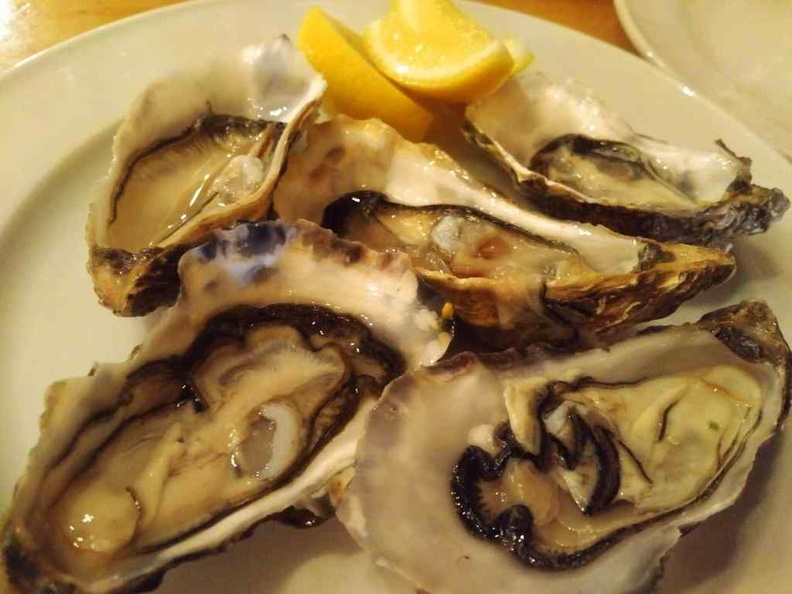 Fresh Oysters from the seafood counter