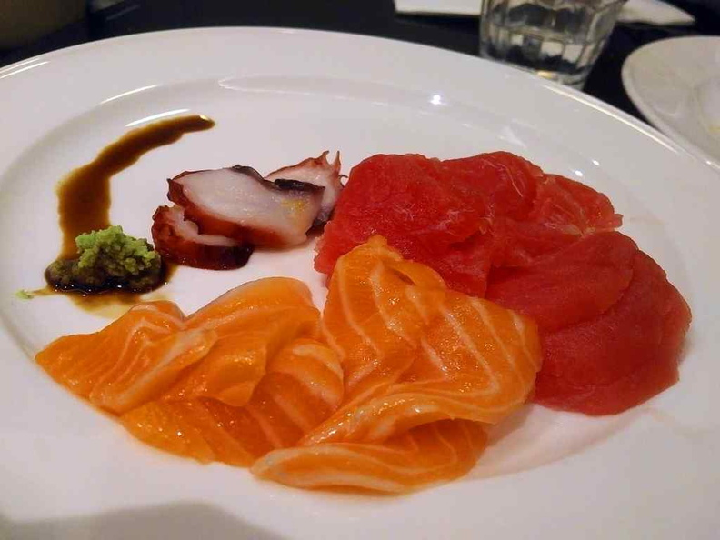 Sashimi is not great, but a redeeming factor to make up for the seafood