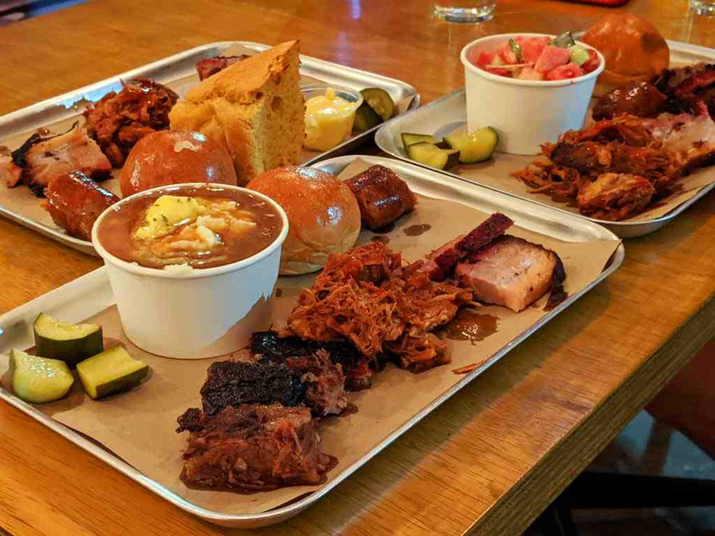 Redeye's BBQ plates are for sharing. You can vary your selection of sides to add more variety to your group.
