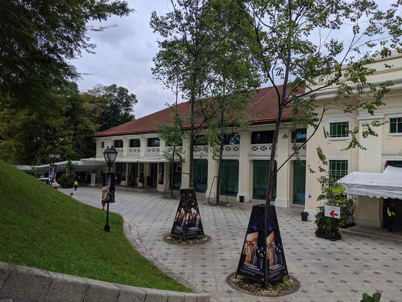 The Fort canning arts center where the Bicentennial is held used to be the barracks and headquarters of the British Army in the 1920s