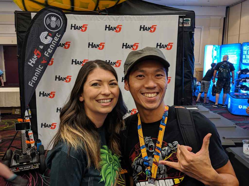 Hey look! it's Shannon Morse from Hak5! Trust your technolust