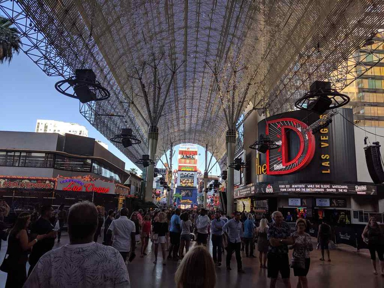 Fremont street in the day