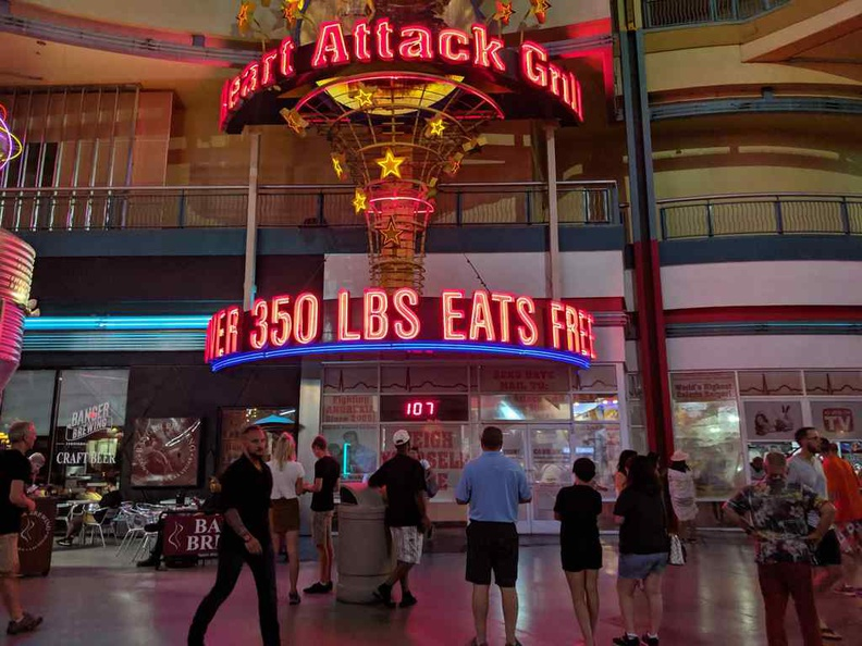 Welcome to the heart attack grill restaurant