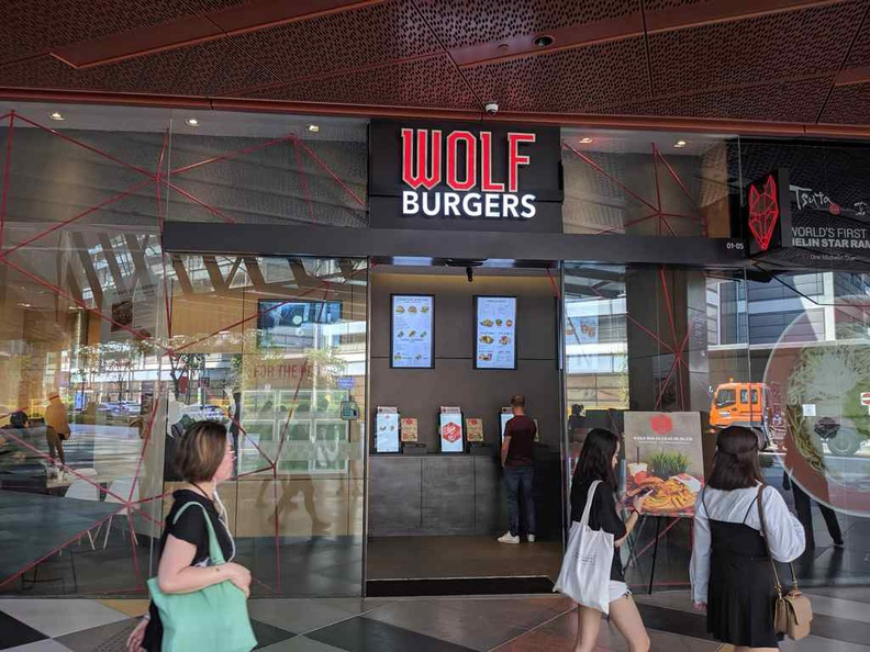 Wolf burgers is a new gourmet burger tenant, prominently located on the ground floor