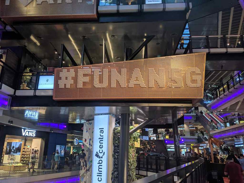 Welcome to the new Funan IT mall