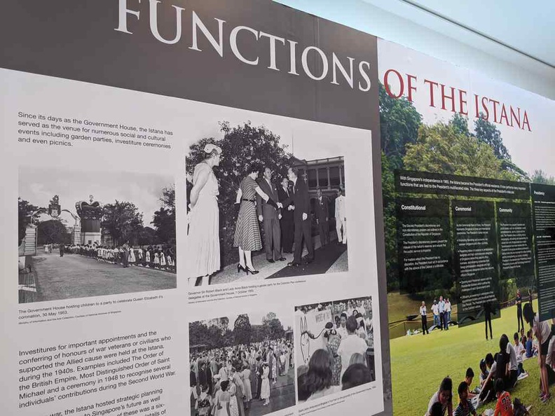 Functions of the Istana, then and today