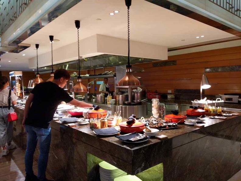 Seasonal Tastes Westin buffet spread