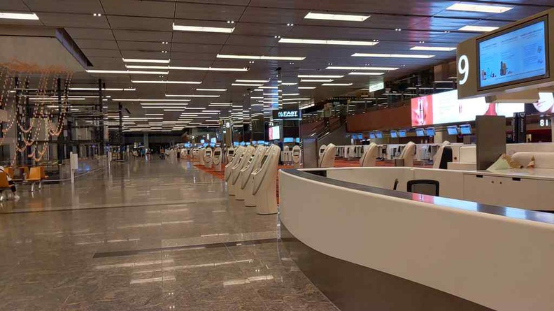 Terminal 1 Changi Airport Covid-19
