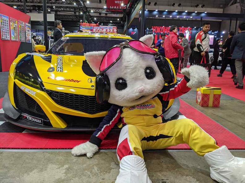 Up garage mascot