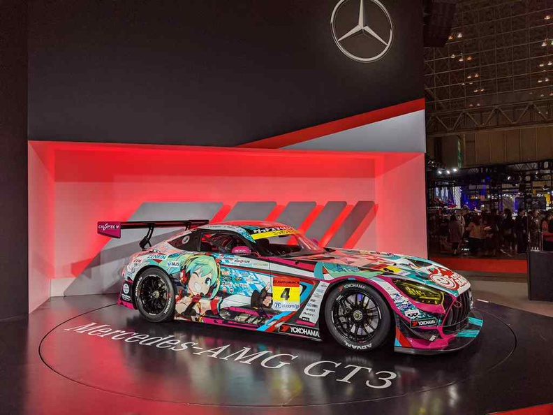 Mercedes AMG booth in grand glory at Tokyo Auto Salon 2020