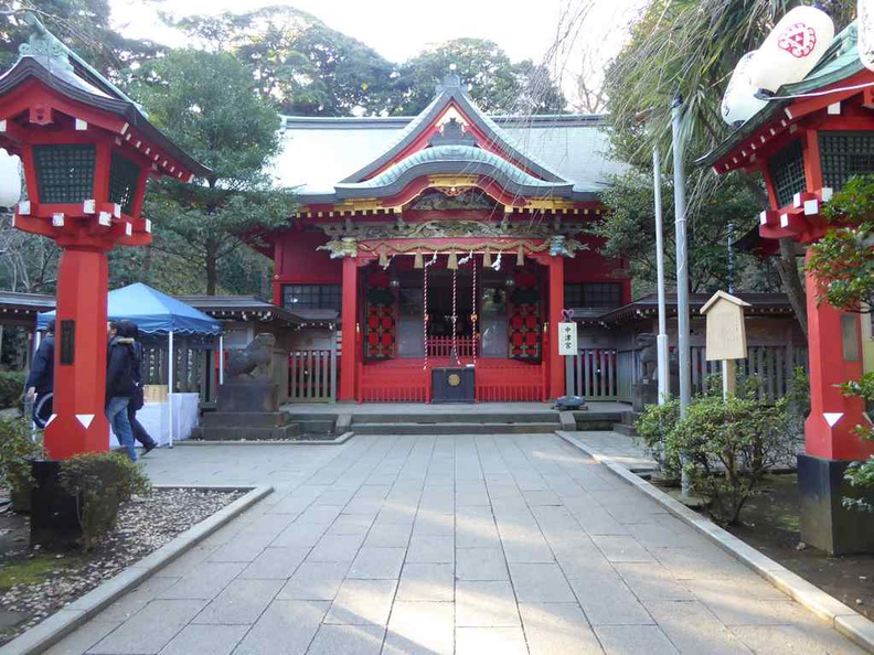 One of the many few shrines on Enoshima Island