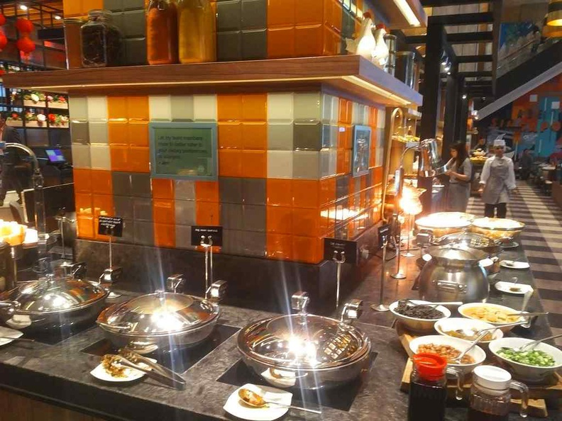 General buffet dining areas
