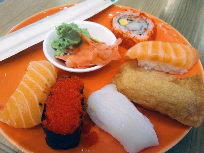 J65 Buffet JEN Hotel Buffet Sushi offering