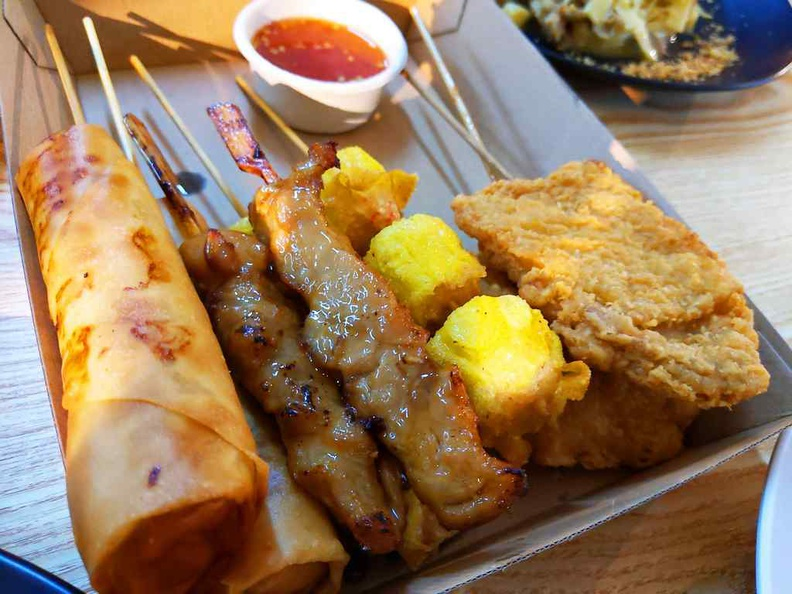 Lok-Kol Asian skewers platter