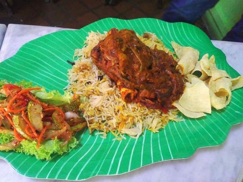 Kampong at BM Briyani rice