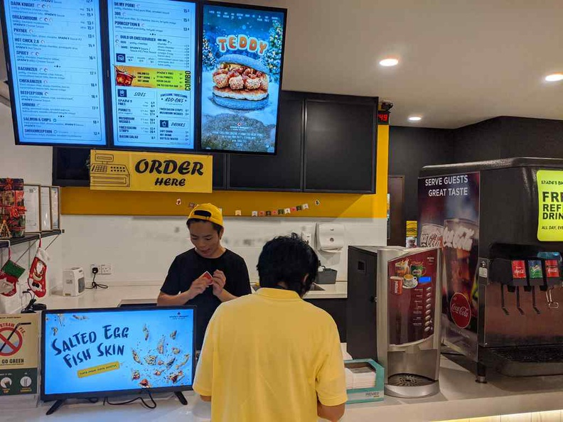 Welcome to Spade burgers KL