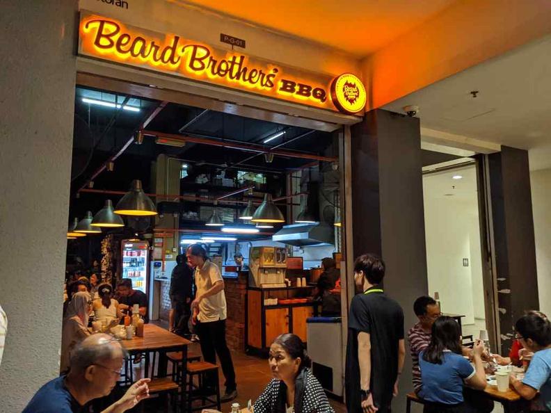Welcome to Beard brothers BBQ restaurant in Petaling Jaya, Selangor, Malaysia