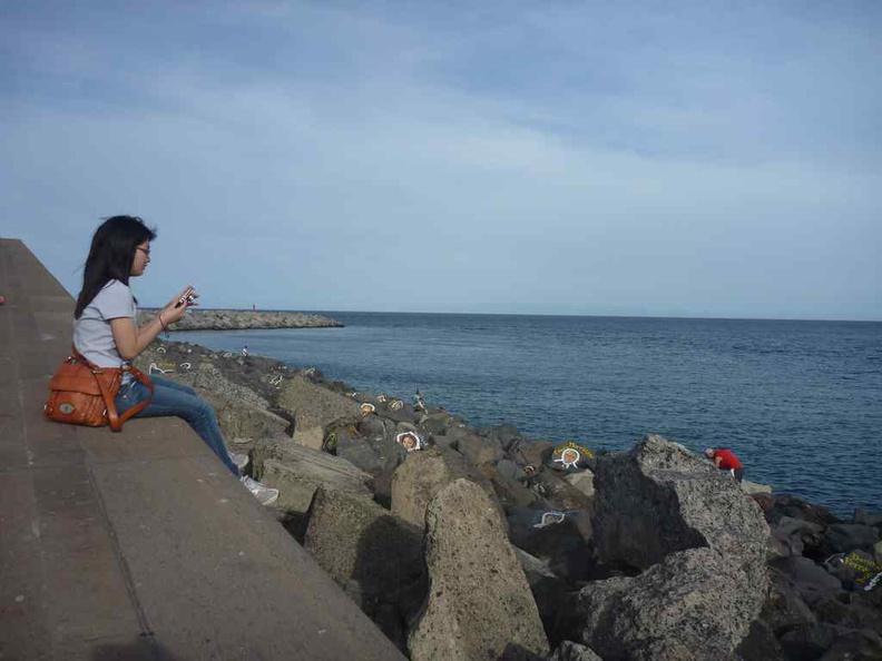 Chilling by the bay at Santa Cruz
