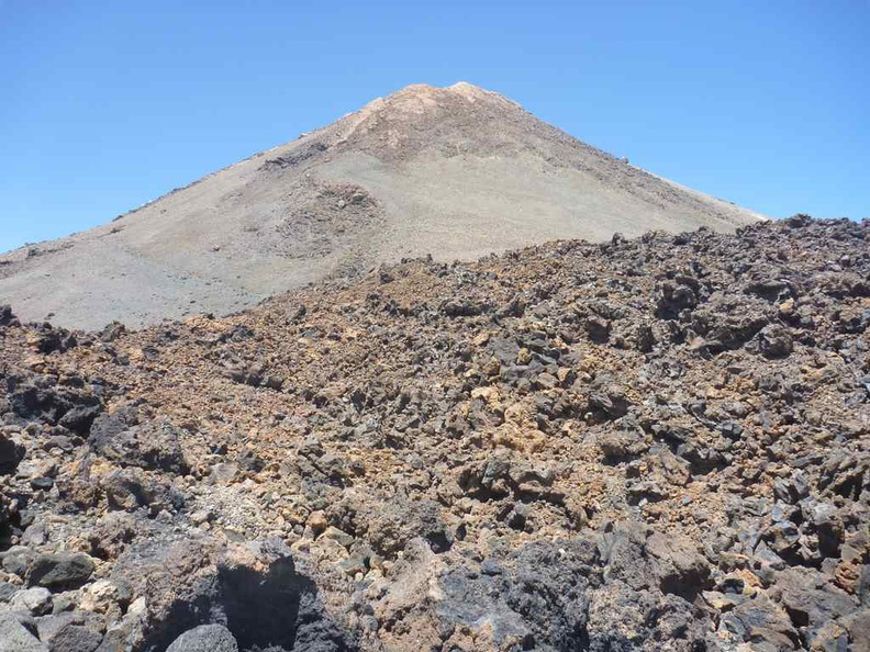 Volcano Mount Teide in all its glory