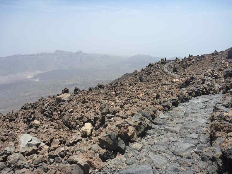 A path in heights on Mount Teide