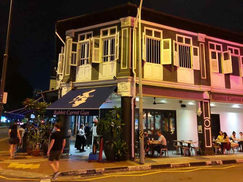 Rabbit Carrot Gun shophouse, a chill British-style pub located at East Coast Joo Chiat area
