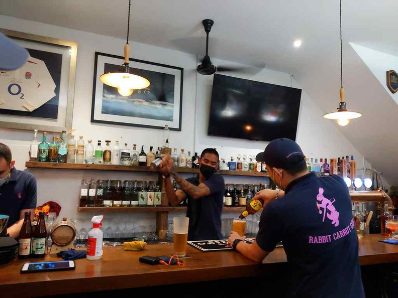 Check out their happy hour drinks, on top of your meal