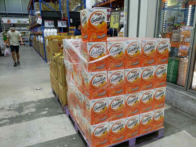 Gold fish by the pallet anyone