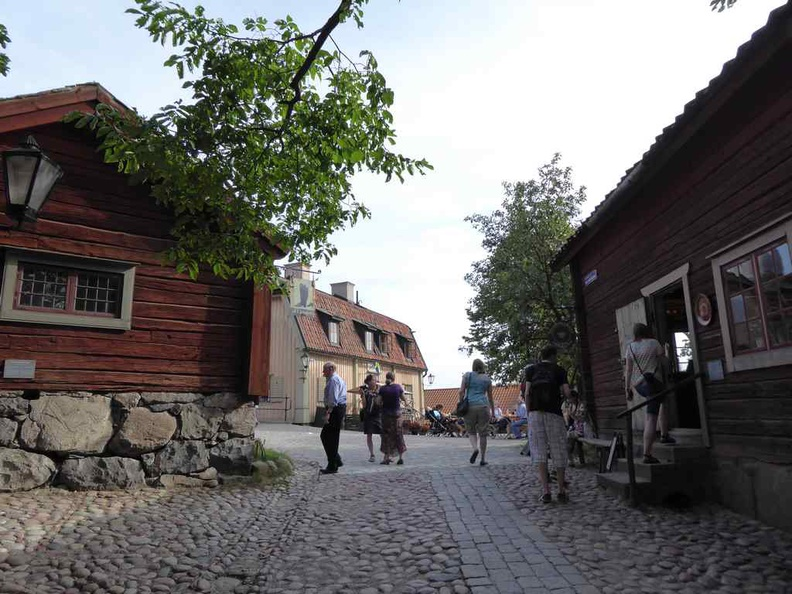 Skansen open air museum is a theme park with interesting finds at every corner