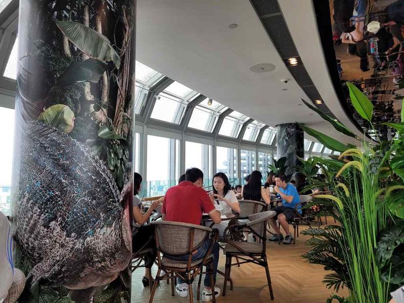 Jurassic World Cafe Ion Sky is a no-brainer for dino die-hard fans who can't get enough of the franchise. Otherwise, I would recommend to shortlist the Jurassic World Cafe just for the novelty