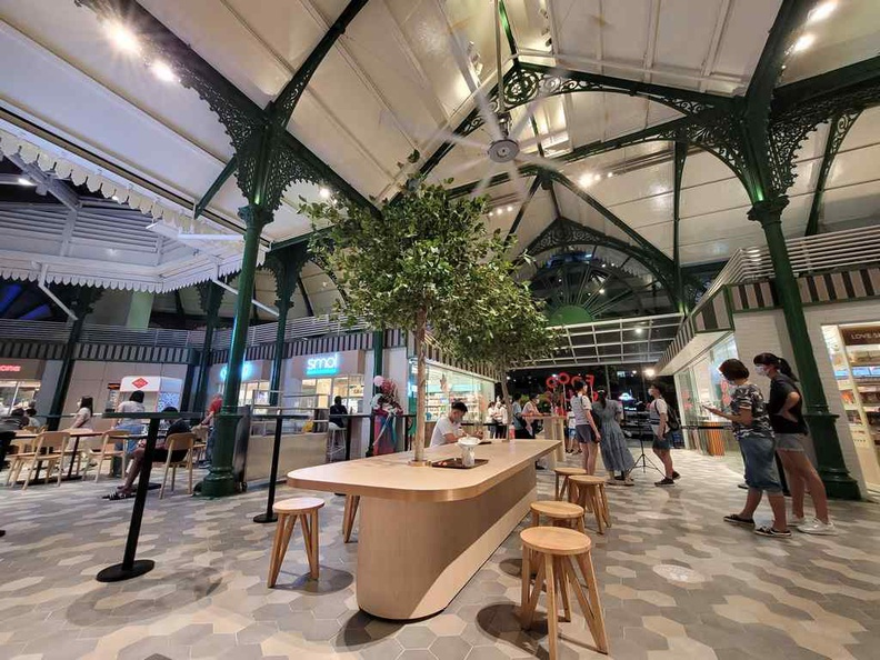 Food Folks Lau Pa Sat offers a new dining environment in a themed sector