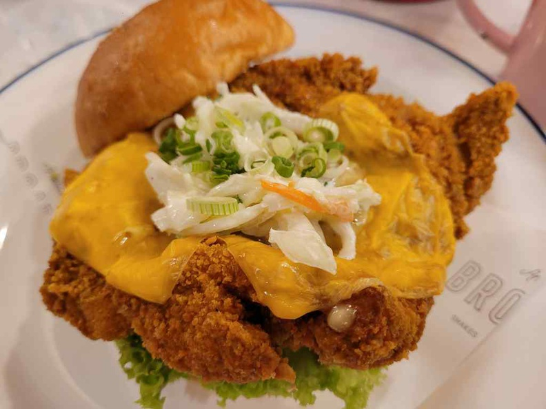 Broadway American Diner Buttermilk Chicken & Cheese ($16)