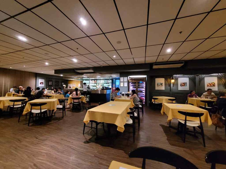 Shashlik Restaurant interior at Far East plaza