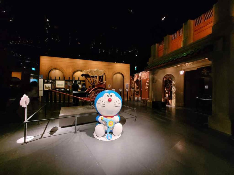 Doraemon national museum taking center stage in the History gallery, you can't miss him